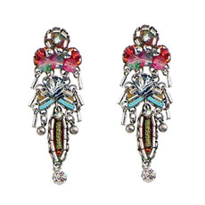 Ayala Bar Odyssey White Post Earrings