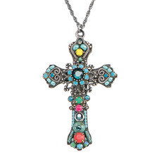 Turquoise Ayala Bar Jewelry Cross