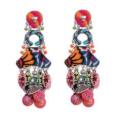 Crimson Queen Post Earrings by Ayala Bar