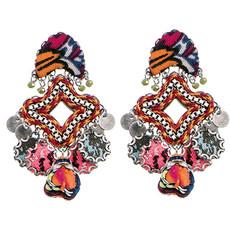 Ayala Bar Post Earrings Crimson Queen