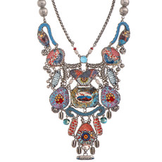 Ayala Bar Long Blue Amalia Necklace