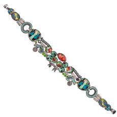 Green Ayala Bar Magnetic Clasps Bracelet
