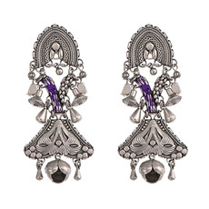 Silver Lucky Day Post Earrings by Ayala Bar