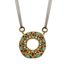 Michal Golan Southwest Necklace In Gold