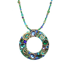 Blue Emerald necklace from Michal Golan Jewelry