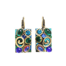 Michal Golan Blue Earrings