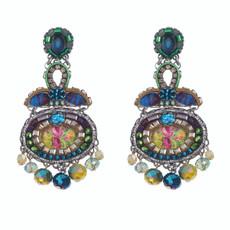 Ayala Bar Blue Horizon Blossom Earrings