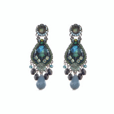 Ayala Bar Turquoise Mist Teardrop Earrings