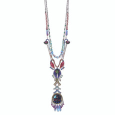 Ayala Bar Long and Layered Aurora Necklace