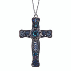 Ayala Bar Dark Divine Large Cross