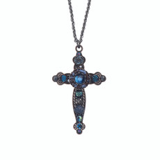 Ayala Bar Believe Blue Medium Cross