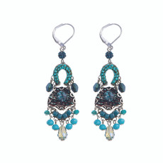 Ayala Bar Meditteranean Ocean French Wire Earrings