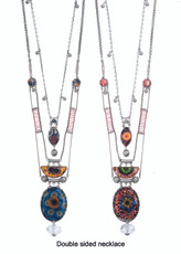 Ayala Bar Aphrodisia Swell Kaleidescope Double-sided Necklace