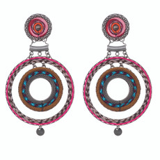 Ayala Bar Spunky Circles Amaryllis Earrings