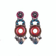Ayala Bar Circle of Life Amaryllis Earrings