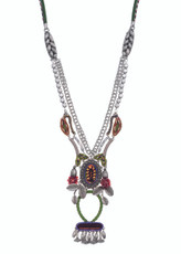 Ayala Bar Begonia Bouquet Necklace - One Left