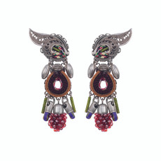Ayala Bar Flower Garden Begonia Earrings
