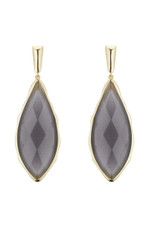 Marcia Moran Grey Earrings Carven