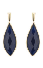 Marcia Moran Jewelry Carven Blue Earrings