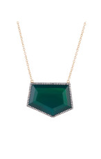 Green Geometric Shaped necklace from Marcia Moran Jewelry