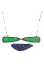 Marcia Moran Sage Necklace Green
