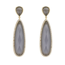 Marcia Moran Grey Earrings Britt