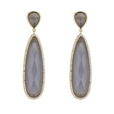 Marcia Moran Grey Earrings Britt