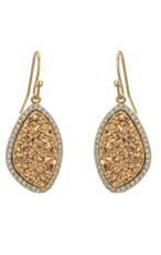 Gold Marcia Moran Jewelry Lilly Earrings