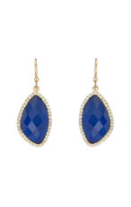 Blue Lilly earrings from Marcia Moran Jewelry