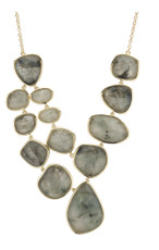 Grey Steller necklace from Marcia Moran Jewelry