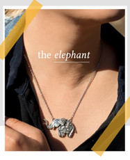 Silver Spoon The Elephant Necklace