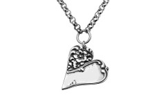 Silver Spoon Charlotte Heart Necklace