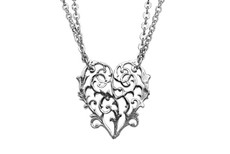 Silver Spoon Alicia Heart Necklace