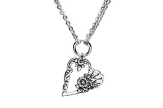 Silver Spoon Louise Heart Necklace