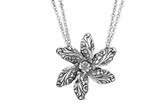 Silver Spoon Georgia Flower Necklace