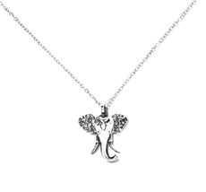 Silver Spoon Elephant Sterling Necklace