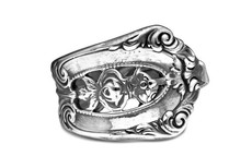 Silver Spoon Empire  Adjustable Ring