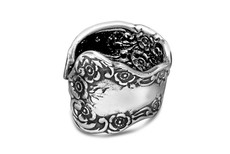 Silver Spoon Lady Helen  Adjustable Ring