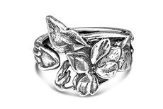 Silver Spoon Elaine  Adjustable Ring