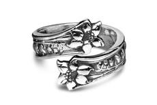 Silver Spoon Lila  Adjustable Ring