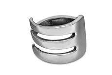 Silver Spoon Fork  Adjustable Ring