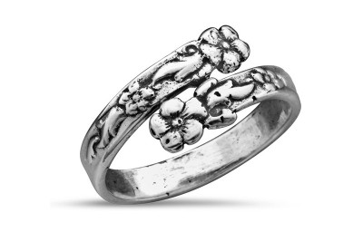 Silver Spoon Ada  Adjustable Ring