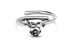 Silver Spoon Lady Helen Sterling Adjustable Ring