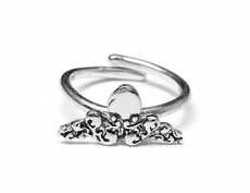 Silver Spoon Octopus Sterling Silver Adjustable Ring