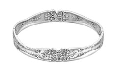 Silver Spoon Lady Helen Bangle Bracelet