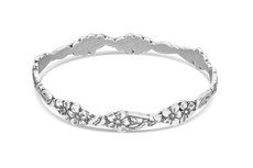 Silver Spoon Abigail Bangle Bracelet