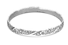Silver Spoon Sarah Bangle Bracelet