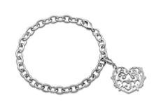 Silver Spoon Alicia Heart Charm Bracelet