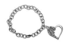 Silver Spoon Emma Heart Charm Bracelet