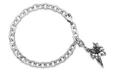 Silver Spoon Lily Charm Bracelet